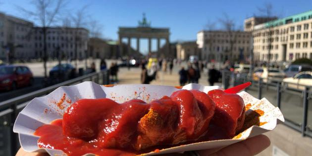 Curry Wolf Currywurst