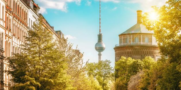 Sommeranfang in Berlin