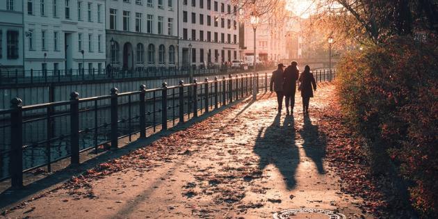 Spaziergang Herbst Berlin