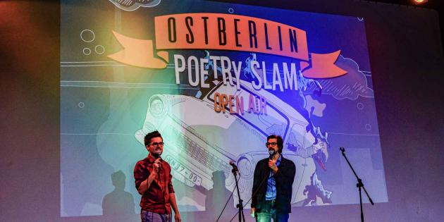 Kiezpoeten Poetry Slam Bühne