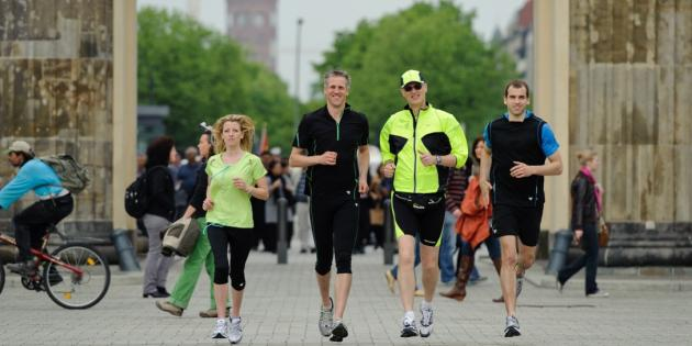 Mike's Sight Running - Laufgruppe am Brandenburger Tor