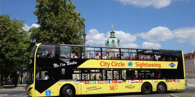 Berlin City Circle Yellow Sightseeing