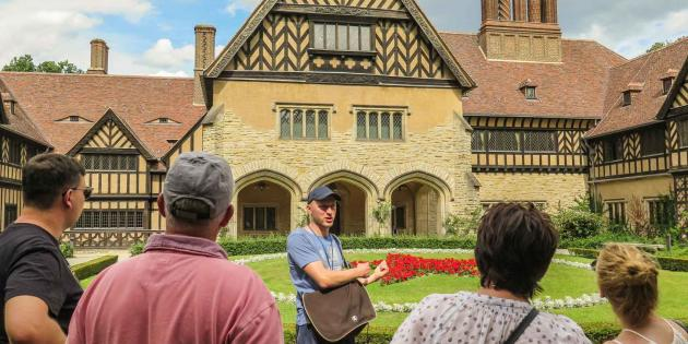 Potsdam Stadtführungen - Geführte Tour am Schloss Cecilienhof